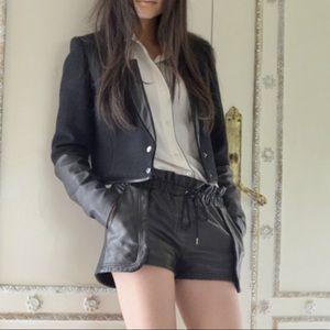 New Rebecca Minkoff mika leather shorts XS